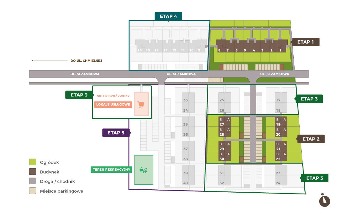 Plan Osiedla Verde Park
